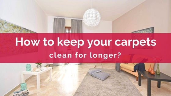 keep carpet clean longer