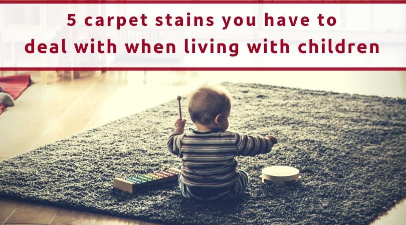 Children Carpet Stains